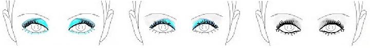 smoky deep set eyes