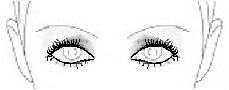 deep set smokey eyes